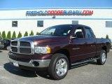 2005 Deep Molten Red Pearl Dodge Ram 1500 SLT Quad Cab 4x4 #71532346
