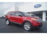 2013 Ruby Red Metallic Ford Explorer XLT 4WD #71531273
