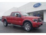 2013 Ruby Red Metallic Ford F150 FX4 SuperCab 4x4 #71531271