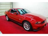 2011 Red Candy Metallic Ford Mustang V6 Premium Coupe #71531209