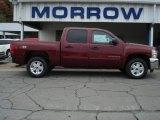 2013 Deep Ruby Metallic Chevrolet Silverado 1500 LT Crew Cab 4x4 #71531153