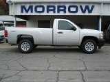 2012 Silver Ice Metallic Chevrolet Silverado 1500 Work Truck Regular Cab 4x4 #71531148