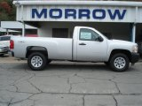 2012 Silver Ice Metallic Chevrolet Silverado 1500 Work Truck Regular Cab 4x4 #71531147