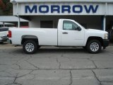 2012 Summit White Chevrolet Silverado 1500 Work Truck Regular Cab #71531145