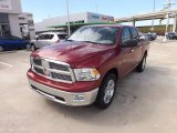 2012 Deep Cherry Red Crystal Pearl Dodge Ram 1500 Lone Star Crew Cab 4x4 #71531746