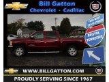 2013 Deep Ruby Metallic Chevrolet Silverado 1500 LT Crew Cab 4x4 #71532241