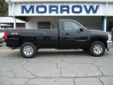 2012 Black Chevrolet Silverado 1500 LS Regular Cab 4x4 #71531143
