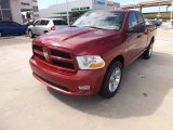 2012 Deep Cherry Red Crystal Pearl Dodge Ram 1500 Express Quad Cab 4x4 #71531744