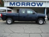 2012 Imperial Blue Metallic Chevrolet Silverado 1500 LS Extended Cab 4x4 #71531142
