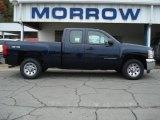 2012 Imperial Blue Metallic Chevrolet Silverado 1500 LS Extended Cab 4x4 #71531142