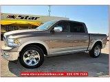 2010 Austin Tan Pearl Dodge Ram 1500 Laramie Crew Cab 4x4 #71531732