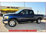 2006 Patriot Blue Pearl Dodge Ram 1500 SLT Quad Cab #71531725