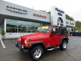 2006 Flame Red Jeep Wrangler Sport 4x4 #71531720