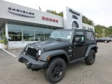 2012 Black Jeep Wrangler Call of Duty: MW3 Edition 4x4 #71531679