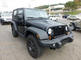 2012 Jeep Wrangler Call of Duty: MW3 Edition 4x4 Front 3/4 View