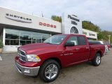 2012 Deep Cherry Red Crystal Pearl Dodge Ram 1500 SLT Quad Cab 4x4 #71531655