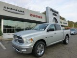 2012 Bright Silver Metallic Dodge Ram 1500 Big Horn Crew Cab 4x4 #71531649