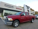 2012 Deep Cherry Red Crystal Pearl Dodge Ram 1500 ST Quad Cab 4x4 #71531648