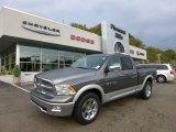 2012 Mineral Gray Metallic Dodge Ram 1500 Laramie Quad Cab 4x4 #71531646