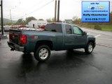 2012 Blue Granite Metallic Chevrolet Silverado 1500 LT Extended Cab 4x4 #71531033