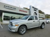 2012 Bright Silver Metallic Dodge Ram 1500 Express Quad Cab 4x4 #71531644