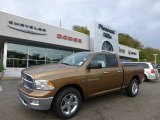 2012 Saddle Brown Pearl Dodge Ram 1500 SLT Quad Cab 4x4 #71531643