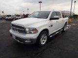 2012 Bright White Dodge Ram 1500 Laramie Longhorn Crew Cab 4x4 #71531577