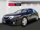 2010 Crystal Black Pearl Acura TSX V6 Sedan #71532087