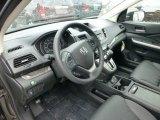 2013 Honda CR-V EX-L AWD Black Interior
