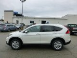 2013 White Diamond Pearl Honda CR-V EX-L AWD #71532059