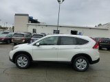2013 White Diamond Pearl Honda CR-V EX AWD #71532058