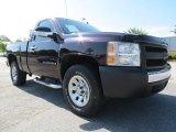 2008 Dark Cherry Metallic Chevrolet Silverado 1500 Work Truck Regular Cab #71531539