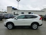 2013 White Diamond Pearl Honda CR-V EX AWD #71532057