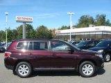 2012 Sizzling Crimson Mica Toyota Highlander SE 4WD #71531465