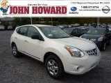 2013 Pearl White Nissan Rogue S AWD #71531996