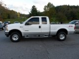 Oxford White Ford F250 Super Duty in 2003