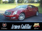Crystal Red Tintcoat Cadillac CTS in 2013