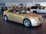 Summer Gold Metallic Cadillac CTS in 2013