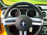 2005 Ford Mustang V6 Premium Coupe Steering Wheel