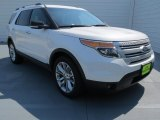 2013 White Platinum Tri-Coat Ford Explorer XLT #71531419