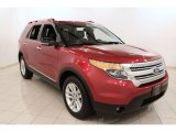 2011 Red Candy Metallic Ford Explorer XLT 4WD #71531962