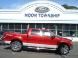 2013 Ruby Red Metallic Ford F150 XLT SuperCrew 4x4 #71531370