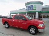 2012 Flame Red Dodge Ram 1500 SLT Quad Cab 4x4 #71531903