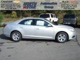 2013 Silver Ice Metallic Chevrolet Malibu LT #71531333