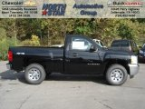 2013 Black Chevrolet Silverado 1500 Work Truck Regular Cab 4x4 #71531325