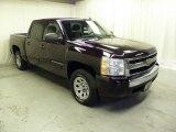 2008 Desert Brown Metallic Chevrolet Silverado 1500 LS Crew Cab #71531852