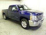 2013 Blue Topaz Metallic Chevrolet Silverado 1500 LT Extended Cab 4x4 #71531849