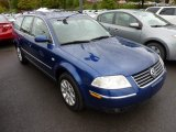 2002 Volkswagen Passat Indigo Blue Pearl