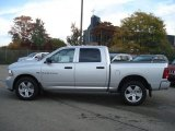 2012 Bright Silver Metallic Dodge Ram 1500 Express Crew Cab 4x4 #71633714