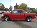 2012 Flame Red Dodge Ram 1500 Express Crew Cab 4x4 #71633685